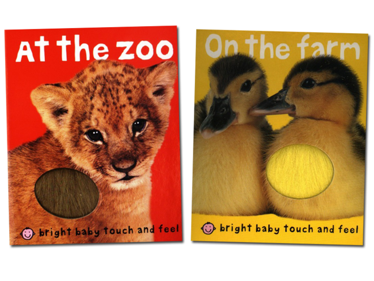 bright baby touch feel baby animals bright baby touch and feel